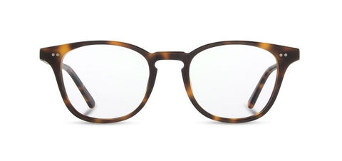 Shwood - Kennedy Acetate Matte Brindle Eyeglasses / Demo Lenses