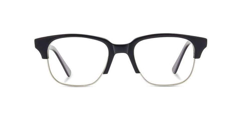 Shwood - Newport Acetate Black Elm Burl Eyeglasses / Demo Lenses