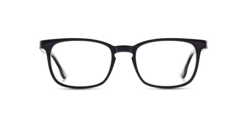 Shwood - Odell Acetate Black Mahogany Eyeglasses / Demo Lenses