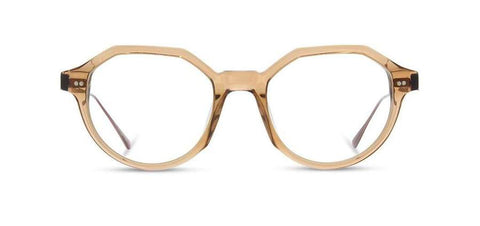 Shwood - Powell Acetate Copper Crystal Ebony Eyeglasses / Demo Lenses