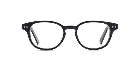Shwood - Quimby Acetate Black Elm Burl Eyeglasses / Demo Lenses