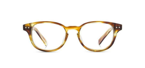 Shwood - Quimby Acetate Honey Elm Burl Eyeglasses / Demo Lenses