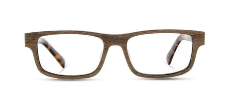 Shwood - Fremont Wood Walnut Eyeglasses / Demo Lenses