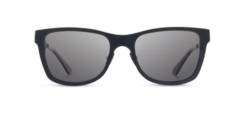 Shwood - Canby Navy Sunglasses / Grey Lenses