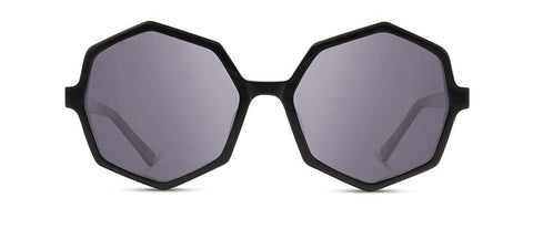 Shwood - Aurora Black Sunglasses / Grey Fade Polarized Lenses