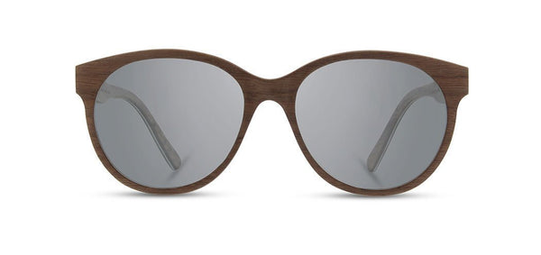 Shwood - Madison Walnut Sunglasses / Grey Lenses