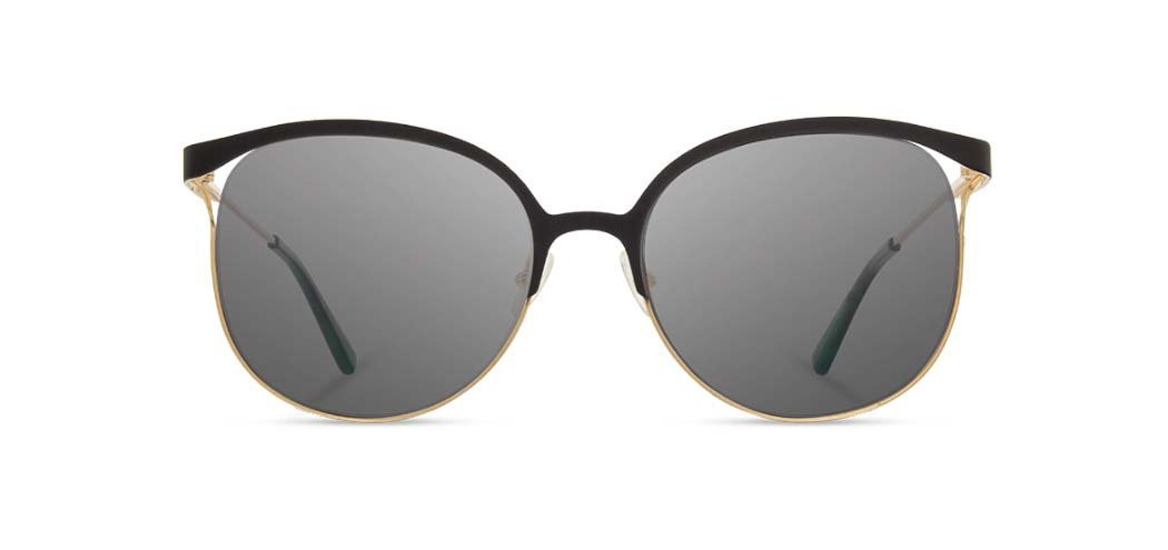 edc0437396 Shwood - Odessa Obsidian Gold Sunglasses   Grey Lenses – New York Glass