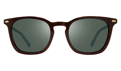 Revo - Watson 51mm Brown Sunglasses / Smoky Green Lenses