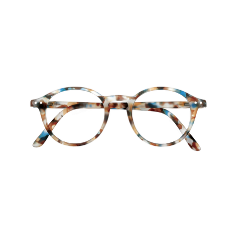 Izipizi - #D Blue Tortoise Junior Eyeglasses / Screen Blue Light Clear Lenses