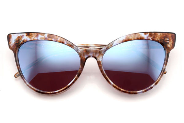 Wildfox - Grand Dame Deluxe Coconut Sunglasses