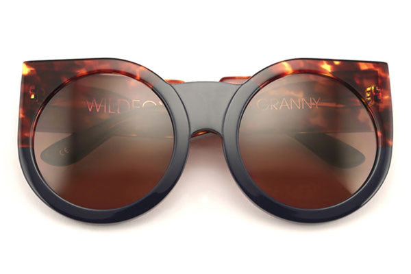 Wildfox - Granny Factory Navy / Tortoise Sunglasses