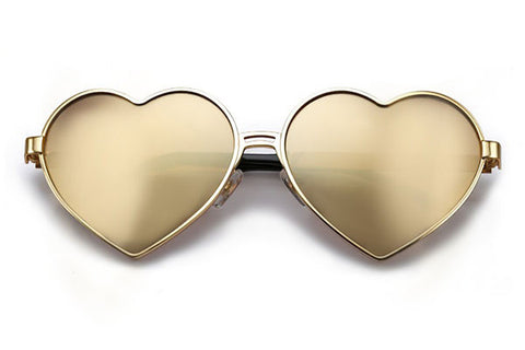 Wildfox - Lolita Deluxe Gold Sunglasses