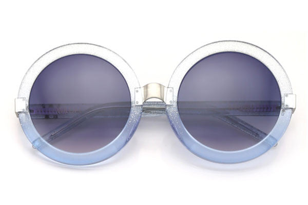 Wildfox - Malibu Crystal Cove & Antique Silver Sunglasses