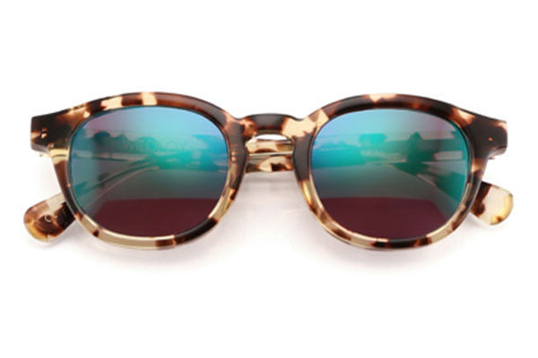 Wildfox - Smart Fox Deluxe Amber Tortoise Sunglasses