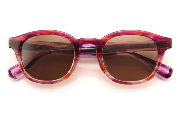 Wildfox - Smart Fox Feather Sun Sunglasses