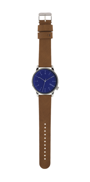 Komono - Winston Blue Cognac Watch