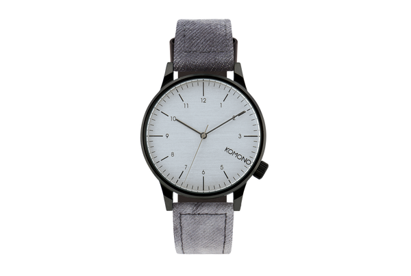 Komono - Winston Heritage Black Denim Watch