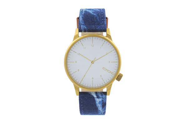 Komono - Winston Heritage Indigo Denim Watch