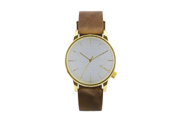 Komono - Winston Regal Saddle Brown Watch