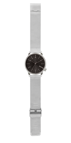 Komono - Winston Royale Silver Black Watch