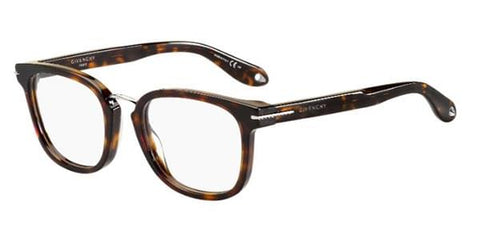 Givenchy GV 0018 Black Red Eyeglasses / Demo Lenses