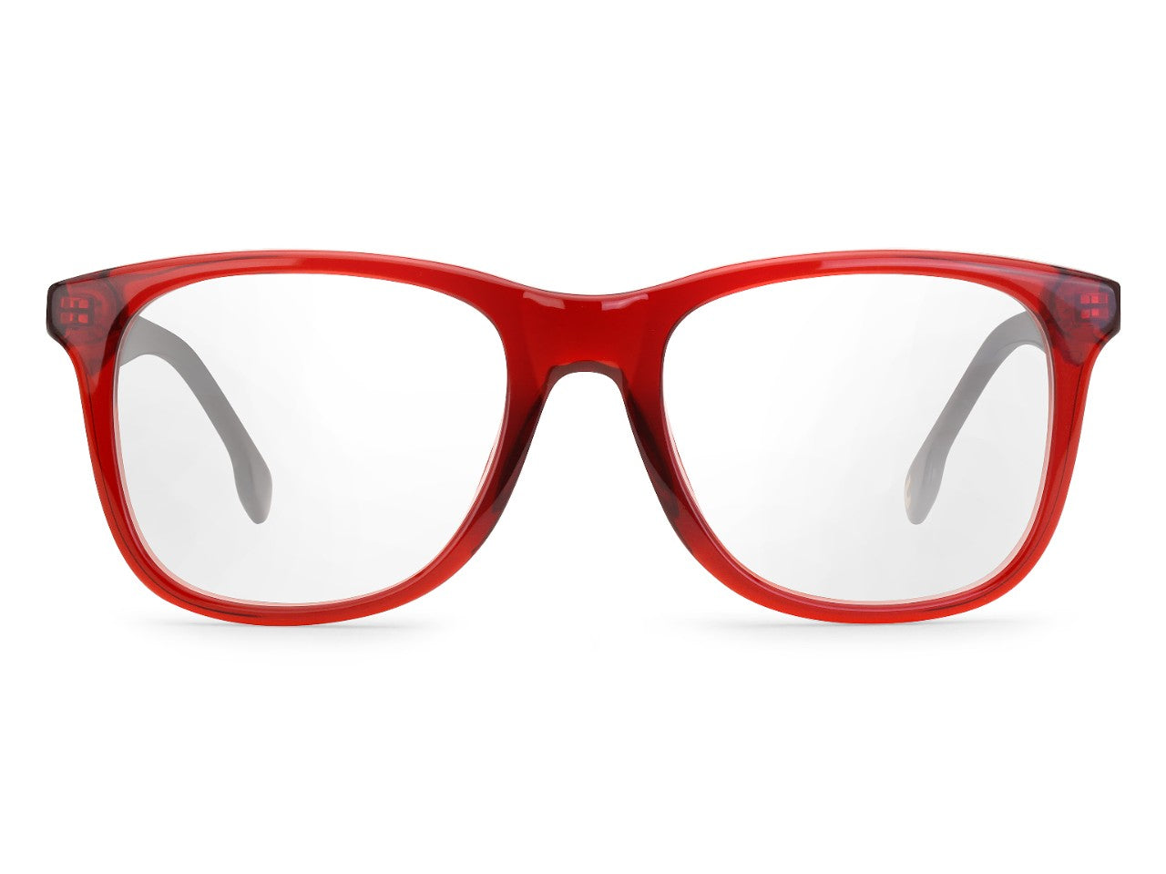 Carrera - 135 Burgundy Black Eyeglasses / Demo Lenses