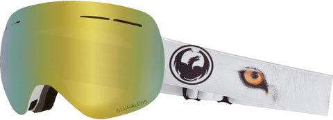 Dragon - X1S Prey Snow Goggles / Gold Ion + Amber Lenses