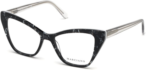 Marciano - GM0328 Black Eyeglasses / Demo Lenses