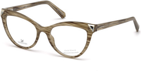 Swarovski - SK5268 Light Brown Eyeglasses / Demo Lenses