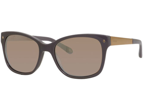 Fossil - 2012  Gray  Sunglasses / Brown Rose Mirror  Lenses