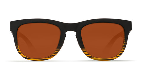 Costa - Copra  Matte Coconut Fade Sunglasses / Copper Polarized Plastic Lenses