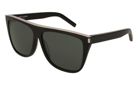Saint Laurent - SL1COMB1 Black Sunglasses / Grey Lenses