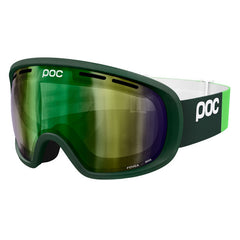 POC - Fovea Incoloy Green Snow Goggles / Green Grey Lenses