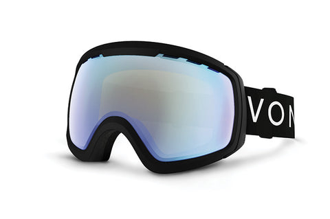 VonZipper - Feenom NLS Black Snow Goggles / Stellar Chrome Lenses