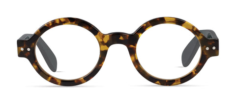 Scojo - Bleeker Street Tortoise / Evergreen Reader Eyeglasses / +1.50 Lenses