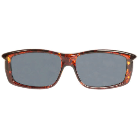 Jonathan Paul Fitovers - Yamba Dark Tortoise Shell Fitover Sunglasses / Polarvue Gray Lenses