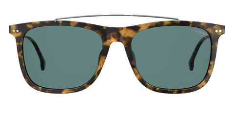 Carrera - 150 Havana Ruthenium Sunglasses / Blue Avio Lenses