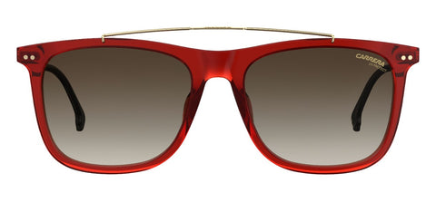 Carrera - 150 Ople Burgundy Sunglasses / Brown Gradient Lenses