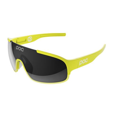 POC - Crave Unobtanium Yellow Sunglasses / Grey Lenses