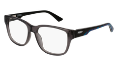 Puma - PJ0005O Junior Grey Eyeglasses / Demo Lenses