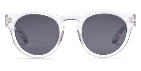 Westward Leaning - Voyager 38 Polished Crystal Sunglasses / Standard Grey G15 Lenses