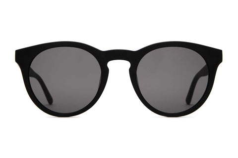 Crap Eyewear Shake Appeal Matte Black Sunglasses / Grey Lenses
