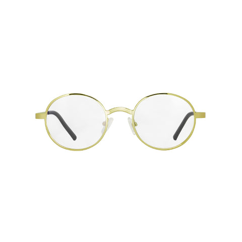 Spektre - Titan 1 Gold Glossy Sunglasses / Clear Lenses
