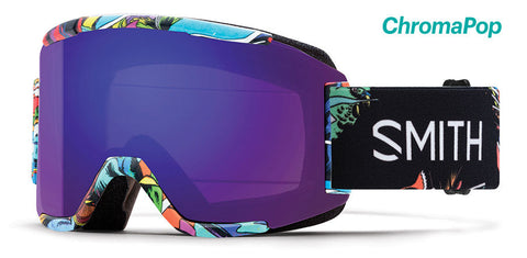 Smith - Squad BSF Snow Goggles / ChromaPop Everyday Violet Mirror Lenses