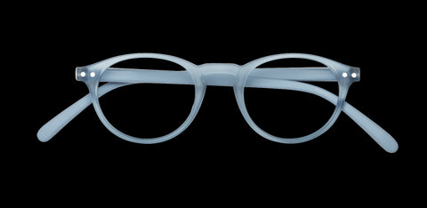 Izipizi - #A Cold Blue Reader Eyeglasses / +1.00 Lenses