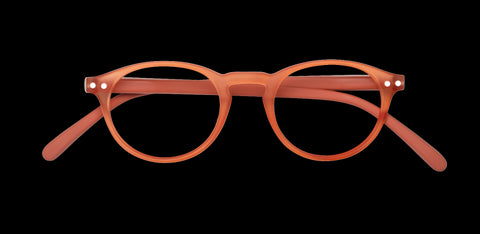 Izipizi - #A Warm Orange Reader Eyeglasses / +2.50 Lenses