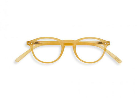 Izipizi - #A Yellow Honey Reader Eyeglasses / +1.00 Lenses