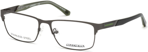 Skechers - SE3202 Matte Gunmetal Eyeglasses / Demo Lenses