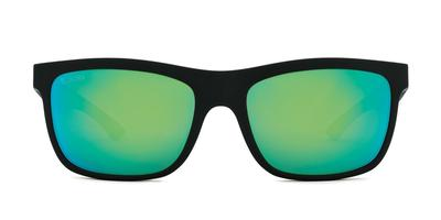 Kaenon - Coto Black Sunglasses / Grey 12 Pacific Blue Mirror Lenses