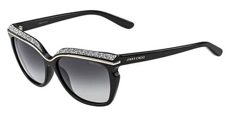 Jimmy Choo - Sophia/S Black Sunglasses / Grey Gradient Lenses